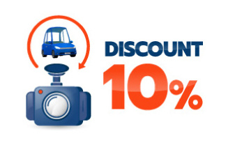 the dash camera discount up to 10%