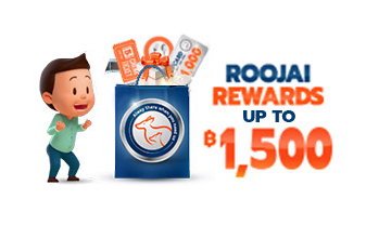 Roojai Rewards redeemed for fuel vouchers, shopping vouchers