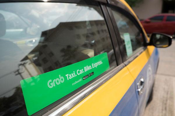 เรียกรถ GrabTaxi GrabCar GrabBike