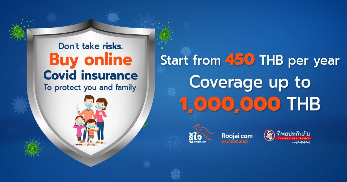 Buy Coronavirus (COVID-19) insurance online! | Roojai.com ...